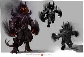 shadow demon in game model dota2