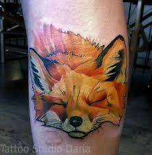 сделать татуировку тату лисы в электростали ногинске балашихе