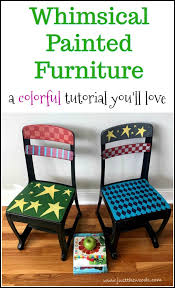 whimsical painted furnitureWhimsical Painted Furniture  A Colorful Makeover Youll Love