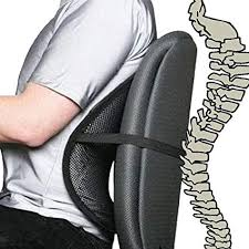 Image Unavailable. not available for. Color: Cool Vent Mesh Back Lumbar Support For Office Chair Amazon.com: Chair, Car