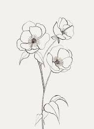 Small Picture Best 25 Simple flower drawing ideas on Pinterest Dibujo