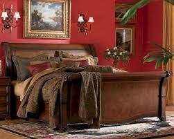 Sleigh Bed Bedroom Furniture Aspen Bedroom Furniture Sleigh Bed Napa As74 400