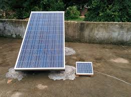 picture of diy off grid solar system