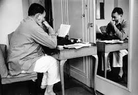 ernest hemingway a typewriter in london s dorchester hotel  ernest hemingway a typewriter in london s dorchester hotel