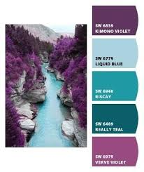 Orchid Goes Great With Turquoise And Aqua Blues, Donu0027t You Think? | Quilts  | Pinterest | Color Schemes, Paint Colors And Color Inspiration