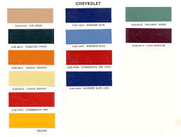 Duplicolor Perfect Match Color Chart Advance Design Paint Color Information