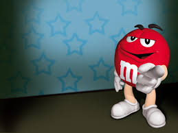 red m m 3d clip art hd wallpaper