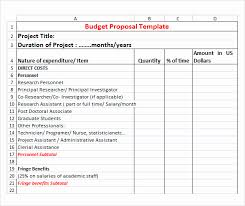 Budget Proposal Template Excel Project Budget Proposal Template Luxury Project Bud Template Excel