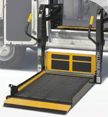 Automotive Handicap Equipment Mobility Products And Driving Aids - Exterior wheelchair lifts