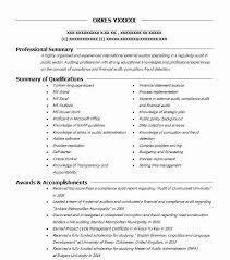 External Auditor Resume Sample Auditor Resumes Livecareer