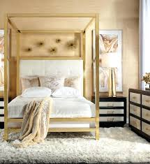 Gold Canopy Bed Frame Queen – artand.info