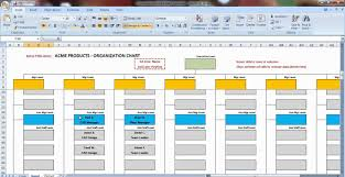 org charts templates excel organization chart template demonstration youtube