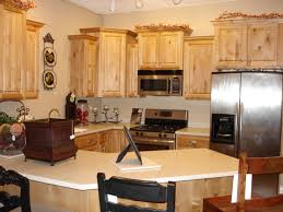 classic kitchen furnishings design with pine unfinished alder
