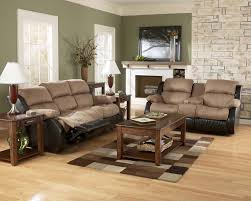 Presley Cocao Reclining Sofa Set Signature Design by Ashley Furniture