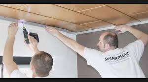 Holzdecken mit Spanndecken renovieren- Montagevideo- Raumdecken ...