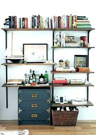office wall shelving units. Office Shelves Wall Mounted Desk And Bookshelf Shelving Shelf  Units Stylish With Along D