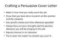 Crafting A Cover Letter Crafting A Cover Letter Ohye Mcpgroup Co