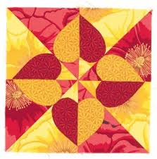 241 best images about Quilt patterns on Pinterest | Free pattern ... & Emily's Heart Quilt Block Adamdwight.com