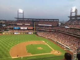 Citizens Bank Park Section 427 Home Of Philadelphia Phillies