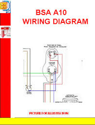 bsa a10 wiring diagram manuals technical pay for bsa a10 wiring diagram