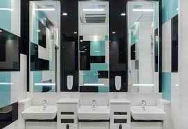 office washroom design. washroom design ideas with coloured glass office c