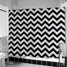 black white chevron shower curtain. black white striped shower curtain 114 awesome exterior with and chevron a