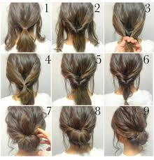 Second Day Curly Hairstyles Hair Romance Curly Hair Tutorial Twisted Bun Hairstyle Click