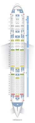 seatguru seat map air india boeing 777 200lr 77l