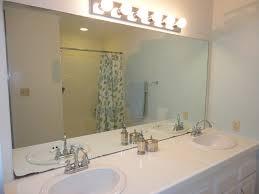 trim around bathroom mirror. Livelovediy Easy Diy Ideas For Updating Your Bathroom In Size 1600 X 1200 Trim Around Mirror 0