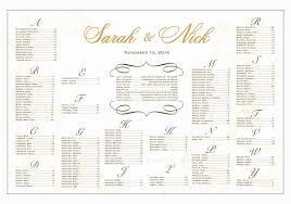 Seating Chart For Wedding Reception Seating Chart Wedding Template Free Fresh Wedding Reception Seating