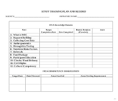 Training Strategy Free Download Template Sample Doc Format Example