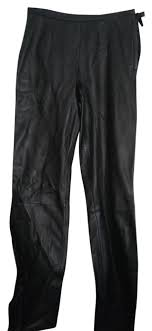 pelle studio black wilsons leather pants