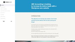 Websitesign Proposal Template Web Download Doc Free Freelance