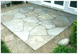 backyard concrete slab ideas large size of patios patio per