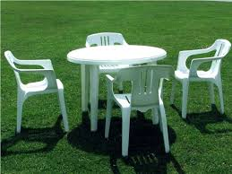plastic patio furniture. Best Plastic Patio Table And Chairs Furniture