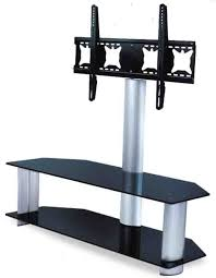 tv table stand. plasma tv stand/glass table/glass tv support--tvs4114-2 table stand