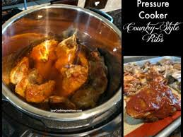 pressure cooker country style pork ribs