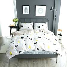 cat comforter sets home textile summer bedding set cat king duvet cover queen bed sheet modern cat comforter sets canada
