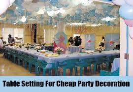Unique And Cheap Party Decoration Ideas - Unique Ideas For Cheap Party .
