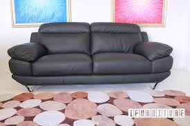 black or white furniture. LORENZO 3 Seat Sofa *Full Leather *Black Or White , \u0026 Ottoman, NZ\u0027s Pioneering Online Furniture Shop With Lowest Prices Black