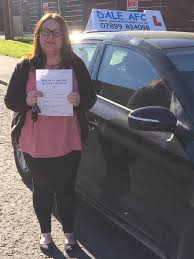 Huge congratulations to Gail... - Dale AFC School of Motoring ...