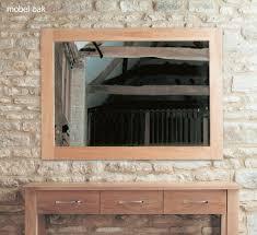 baumhaus mobel solid oak extra. Mobel-oak-wall-mirror-medium Baumhaus Mobel Solid Oak Extra