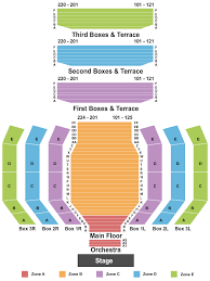 Clowes Memorial Hall Seating Chart Indianapolis