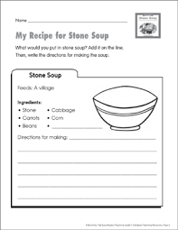 Comprehension by chapter, vocabulary challenges, creative reading response activities and projects, tests, and much more! Stone Soup Lesson Plan Activities Printable Lesson Plans And Ideas Graphic Organizers