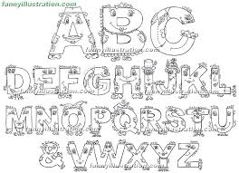 Small Picture Baby Alphabet Coloring Pages Coloring Pages