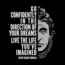 Henry David Thoreau Quotes Simple Henry David Thoreau Quote Live The Life You've Imagined Henry