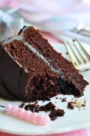 Chocolate Fudge Birthday Cake Baking Recipe