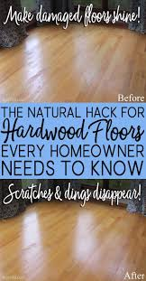 diy all natural hardwood floor rer makes floors shine like new and eliminates scratches scuffs non toxic diy cleaner safe for kids pets