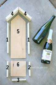 diy wood bird feeder diy bird feeder glass bottle upcycle how to make a bird feeder