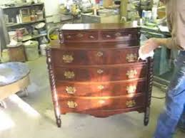 Restoring a Chest of Drawers Thomas Johnson Antique Furniture